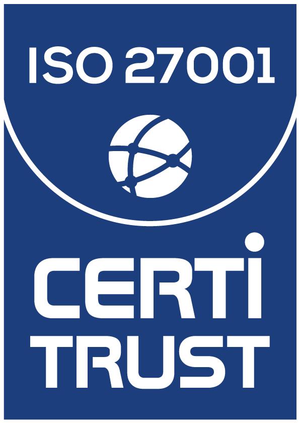 Logo Certitrust ISO 27001