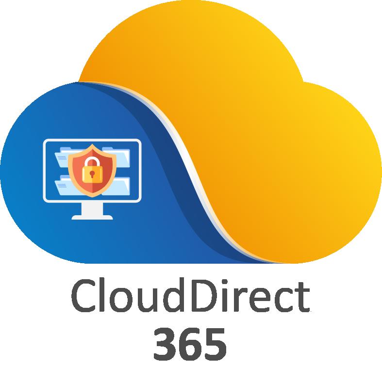 Logo CloudDirect 365 - CloudDirect 365 est l'offre Aviti de transformation digitale de l'environnement de travail des utilisateurs.