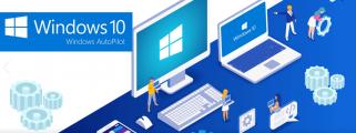 Logo Windows AutoPilot - Aviti gère l'approvisionnement, le stockage et la configuration des PC et terminaux clients, notamment avec Microsoft Autopilot.