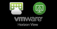 Logo VMware Horizon - Aviti déploie et assure la maintenance de vos infrastructures VDI, on-premises
